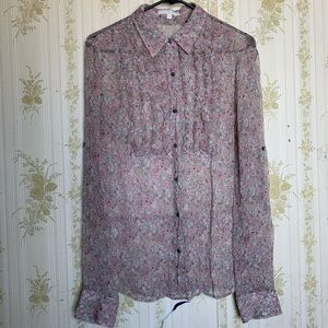 7 for all mankind Floral button down shirt